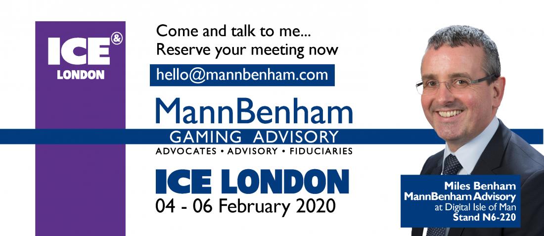 MannBenham eGaming - Miles Benham at ICE London 2020