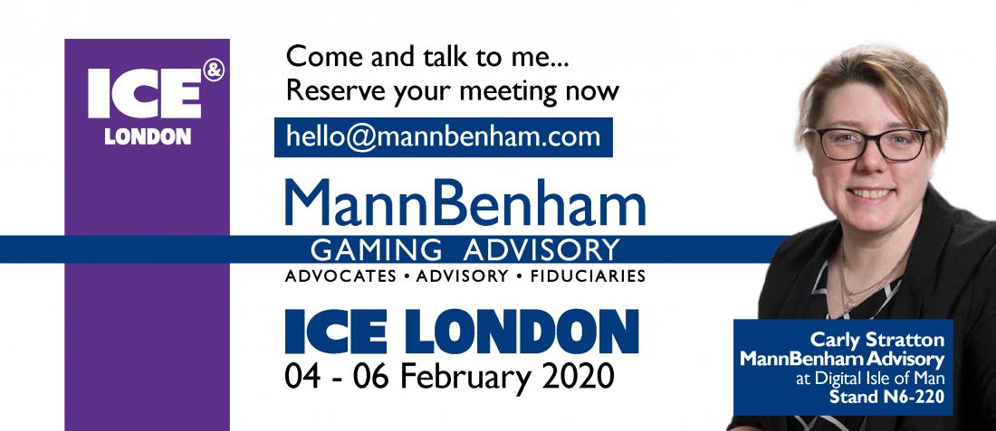 MannBenham eGaming - Carly Stratton at ICE London 2020
