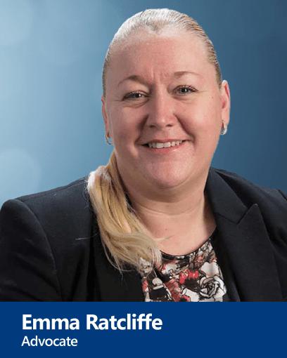 Emma Ratcliffe - Advocate