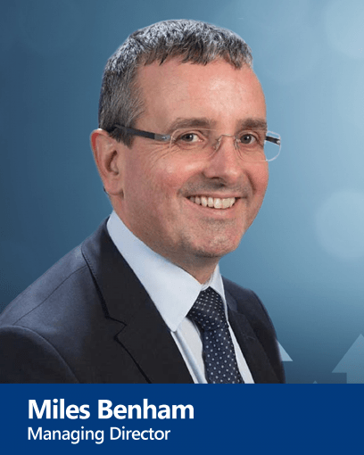 Miles Benham - Managing Director and Senior Advocate