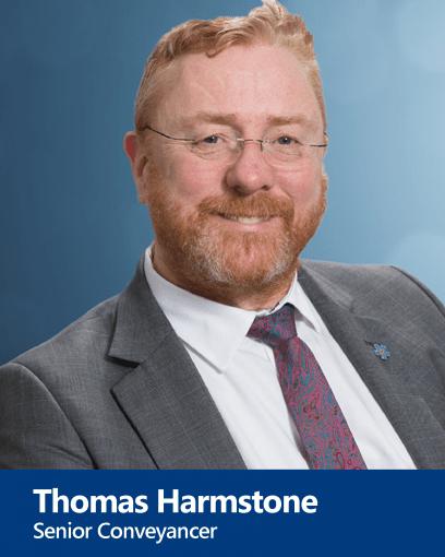 Thomas Harmstone - Senior Conveyancer